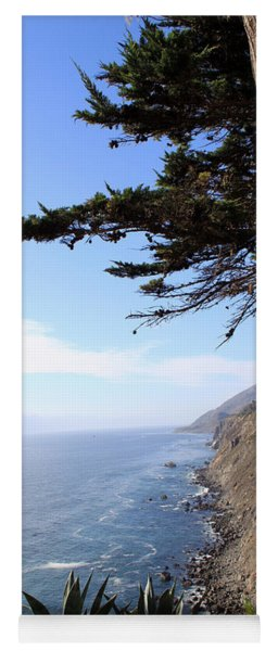 Big Sur Coastline Yoga Mat