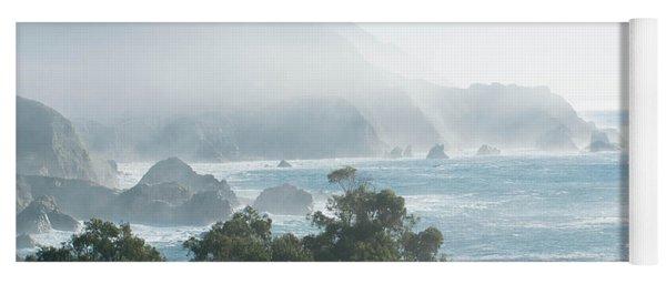 Big Sur Fog Yoga Mat