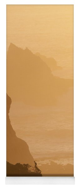 Big Sur Sunset Yoga Mat