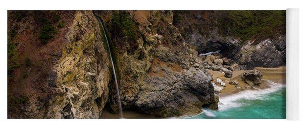 Big Sur Waterfall Yoga Mat