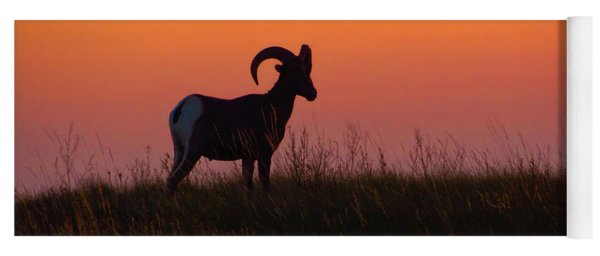 Bighorn Sunset Yoga Mat