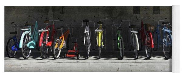 Bike Rack Yoga Mat