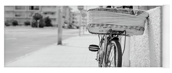 Bike With Basket Yoga Mat