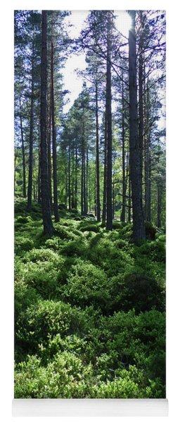 Forest Spring Yoga Mat