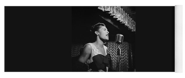 Billie Holiday William Gottlieb Photo New York City 1947 Yoga Mat