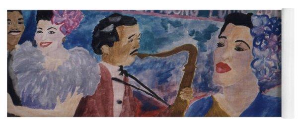 Billie's Brass Band Yoga Mat