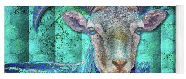 Billy Goat Blue Yoga Mat