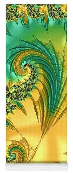 Yoga Mat featuring the digital art Bird Exotica by Susan Maxwell Schmidt