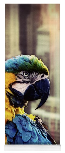 Bird In The City Yoga Mat