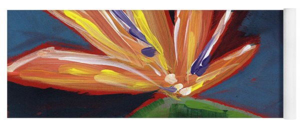 Bird Of Paradise- Art By Linda Woods Yoga Mat