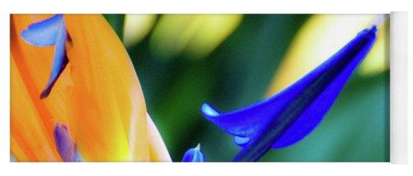 Bird Of Paradise Flower Yoga Mat