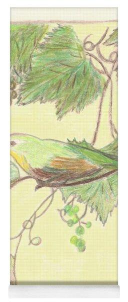 Bird On A Branch Yoga Mat