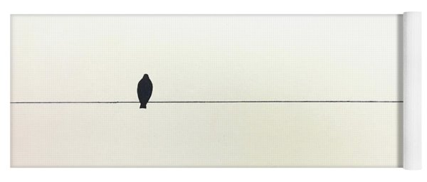 Bird On A Wire Yoga Mat