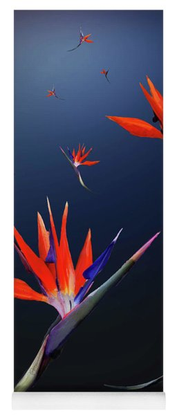 Birds Of Paradise Yoga Mat