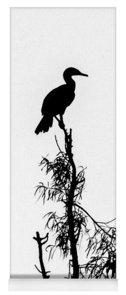 Birds Perched On Branches Yoga Mat