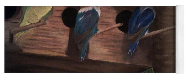 Birds Resting Yoga Mat