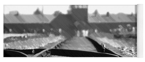 Birkenau / Auschwitz Railhead - Pol402324 Yoga Mat