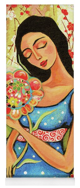 Birth Flower Yoga Mat
