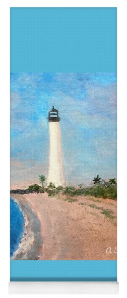 Biscayne Lighthouse Yoga Mat