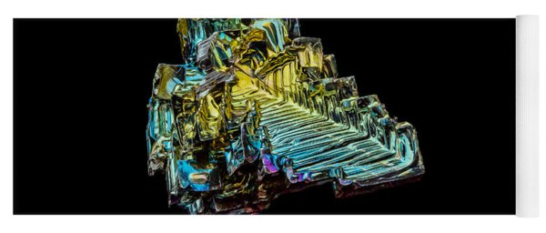 Bismuth Crystal Yoga Mat