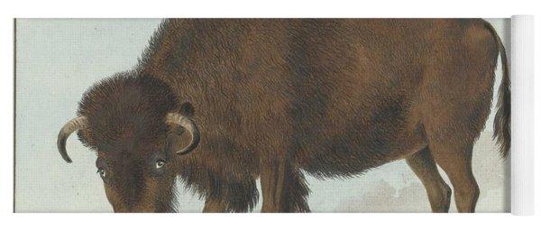 Bison, Isaac Van Haastert, 1808 Yoga Mat