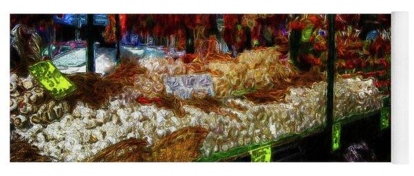 Biward Market Garlic Yoga Mat