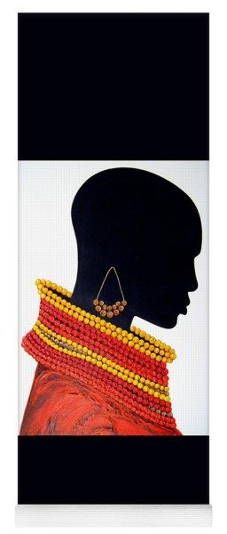 Black And Red - Original Artwork Yoga Mat