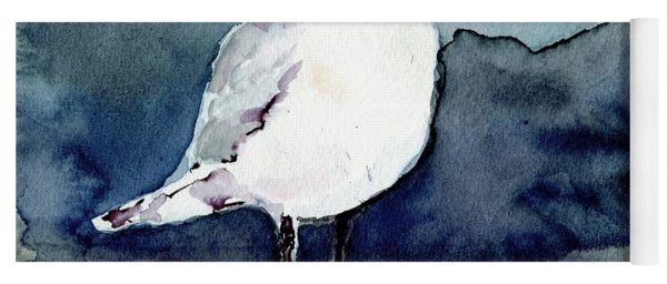 Black-billed Gull Yoga Mat