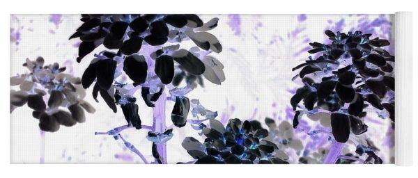 Black Blooms I I Yoga Mat