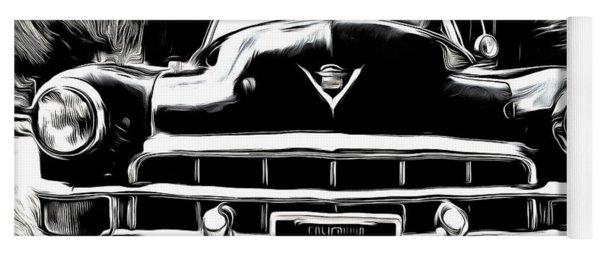 Black Cadillac Yoga Mat