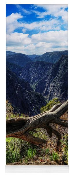 Black Canyon Of The Gunnison First Look Yoga Mat