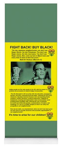 Black Dollars Rising Yoga Mat