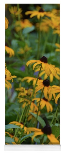 Black-eyed Susan Yoga Mat