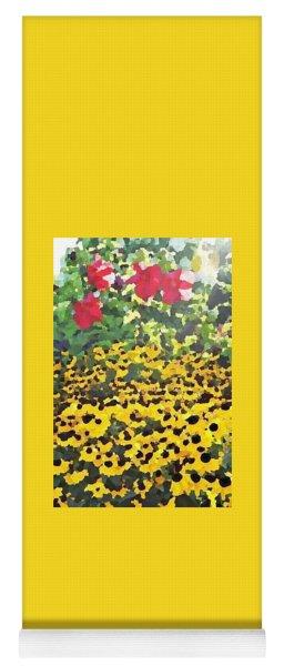 Black-eyed Susans - Flowers Of Bethany Beach Yoga Mat