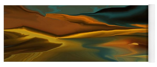 Black Hills Abstract Yoga Mat