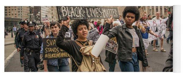 Black Lives Matter Yoga Mat