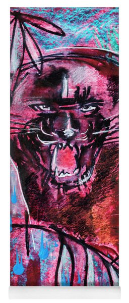 Black Panther,  Original Painting Yoga Mat