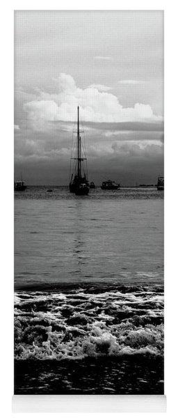 Black Sails Yoga Mat