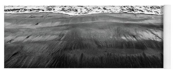 Black Sands  Yoga Mat