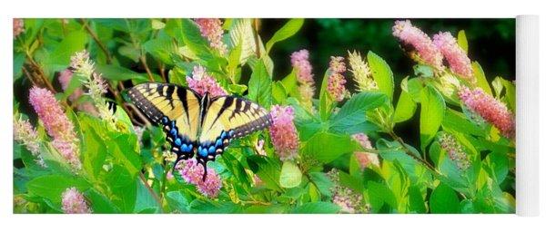 Black Swallowtail Yoga Mat