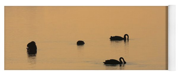 Black Swan Dawn Yoga Mat