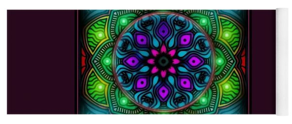 Blacklight 15 Yoga Mat