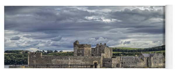 Blackness Castle Yoga Mat