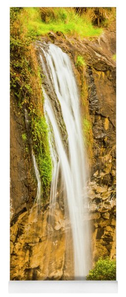 Blackwood Forest Waterfall Yoga Mat