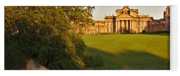 Blenheim Palace And Lake Yoga Mat