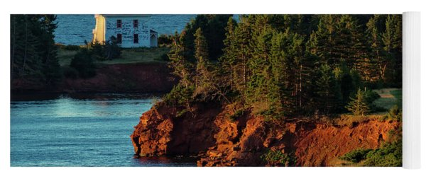 Blockhouse Point Lighthouse Yoga Mat