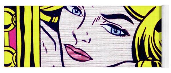 Blonde Waiting -1964 - Pop Art  Yoga Mat