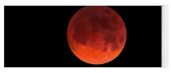 Blood Moon Yoga Mat