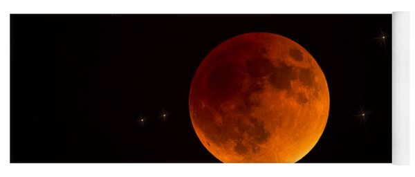 Blood Moon Lunar Eclipse 2015 Yoga Mat