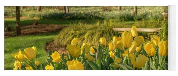 Bloomin Tulips Yoga Mat